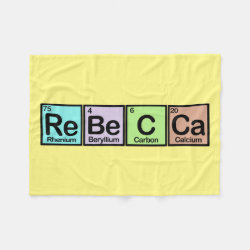 Rebecca made of Elements Fleece Blanket, 30