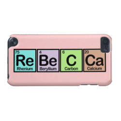 Case-Mate Barely There 5th Generation iPod Touch Case with Rebecca made of Elements design