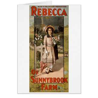 Rebecca of Sunnybrook Farm Stage Adaptation 1911 Greeting Cards
