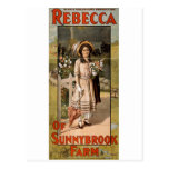 Rebecca of Sunnybrook Farm Stage Adaptation 1911 Post Card