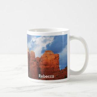 Rebecca on Coffee Pot Rock Mug