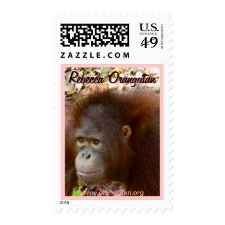 Rebecca Orangutan Stamps