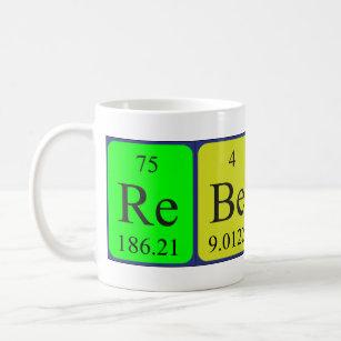 Name spelled with chemical elements coffee travel mugs zazzle rebecca periodic table name mug urtaz Choice Image