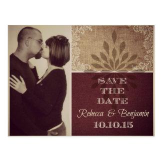 Rebecca Save Date Postcard