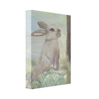 Rebekah's Garden Canvas Print