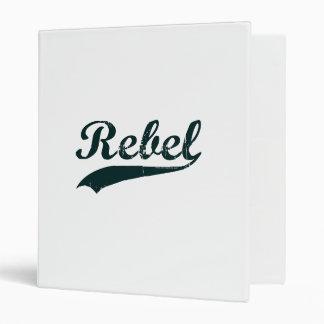 Rebel 1 3 ring binder