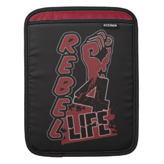 REBEL 4 LIFE custom color iPad sleeve