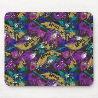 Rebel Additude Pattern Mouse Pad