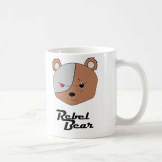 Rebel Bear Cyborg Coffee Mug