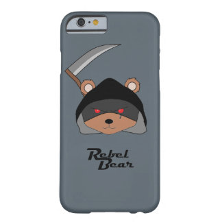 Rebel Bear Grim Reaper Barely There iPhone 6 Case