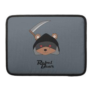 Rebel Bear Grim Reaper Sleeves For MacBooks