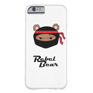 Rebel Bear Ninja Barely There iPhone 6 Case