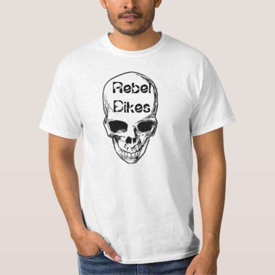Rebel Bikes Skull T-Shirt