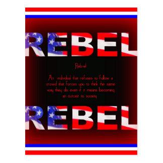 Rebel Design Postcard
