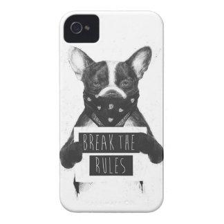 Rebel dog iPhone 4 Case-Mate case