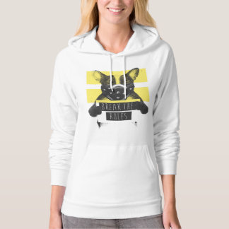 Rebel dog (yellow) hoodie