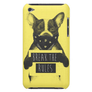 Rebel dog (yellow) iPod touch Case-Mate case