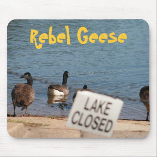 Rebel Geese Mouse Pad