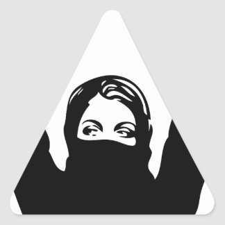 Rebel Girl Triangle Sticker