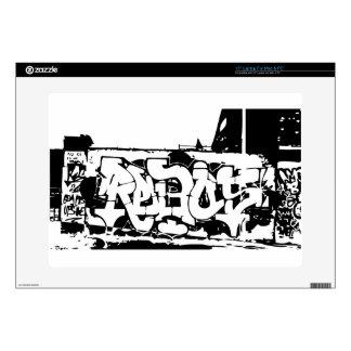"""rebel graf 15"""" laptop skin"""