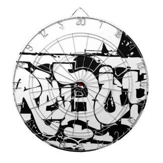 rebel graf dartboard
