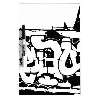 rebel graf dry erase board