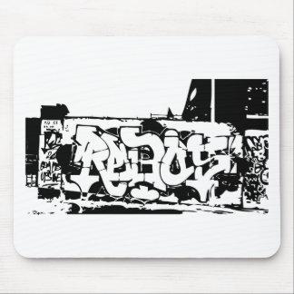 rebel graf mouse pad