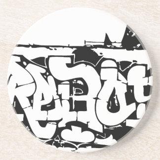 rebel graf sandstone coaster