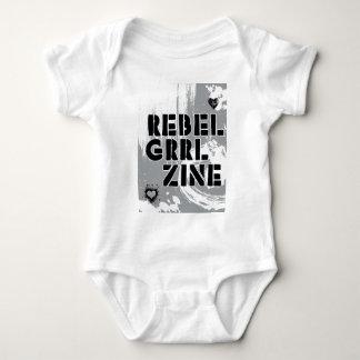 Rebel Grrl Zine Baby Bodysuit
