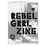 Rebel Grrl Zine Greeting Cards