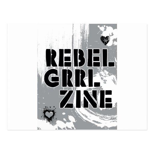 Rebel Grrl Zine Post Cards