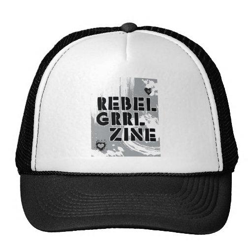 Rebel Grrl Zine Trucker Hat