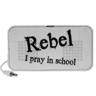 Rebel: I Pray In School Travel Speakers