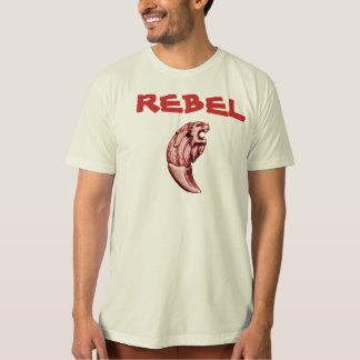 Rebel Lion Clear Male T-Shirt
