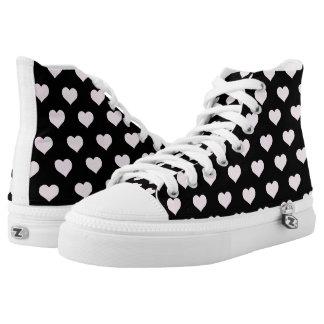 Rebel Love High-Top Sneakers