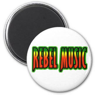 Rebel Music 2 Inch Round Magnet