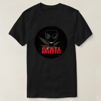 REBEL MUZIC LOGO - Cotton Men's T-Shirt