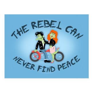 Rebel No Peace Postcard