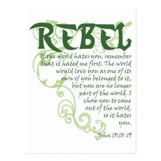 Rebel Postcard