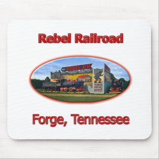 Rebel Railroad Roadside Attraction Mouse Pad