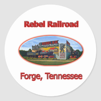 Rebel Railroad Roadside Attraction Stickers