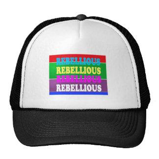 Rebel Rebellion REBELLIOUS Expression LOWPRICE GIF Hat