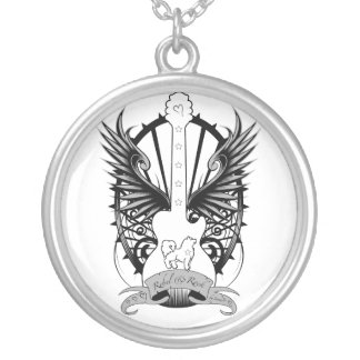 Rebel & Rock Winged Guitar Necklace by Sami Jo
