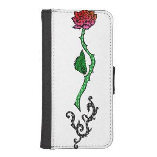 Rebel Rose iPhone 5/5s Wallet Case Phone Wallet