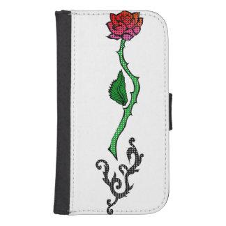 Rebel Rose Samsung Galaxy S4 Wallet Case