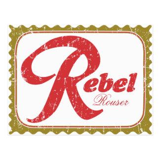 Rebel Rouser Novelty Item Postcard