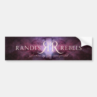 Rebel - Seeker Bumper Sticker