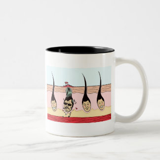 Rebel Skin Two-Tone Coffee Mug