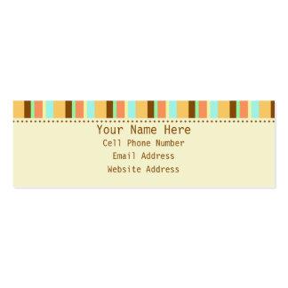 Rebel Skinny Profile Business Cards