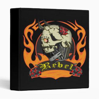Rebel Skull Avery Binder
